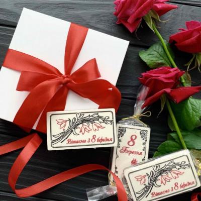 Шоколадные подарки для деток на 8 марта