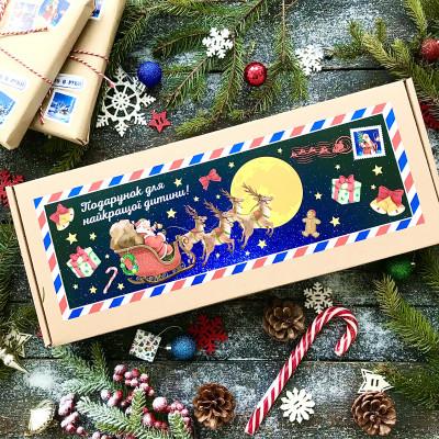 Новогодние сладости под елку для ребенка