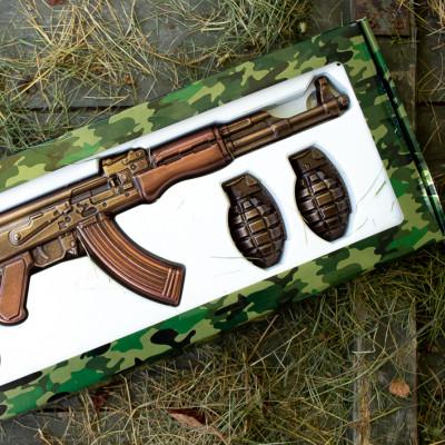 Шоколадный автомат Калашникова