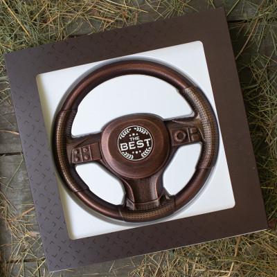 Шоколадный руль. Подарок автомобилисту