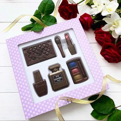 Подарок женщине ко Дню Рождения. Косметика из шоколада. Только оригинал :)