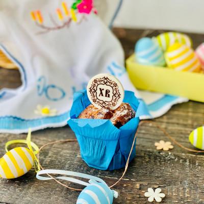 Маленкие пасхальные шоколадки-украшения для Пасочек и Куличей