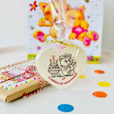 Подарки из шоколада для гостей от именинника
